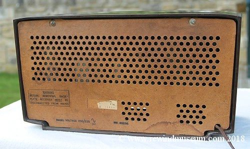 Museum Of Vintage Radios Bush Dac 30 Valve Radio Kb Fb