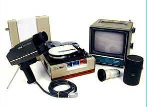 Sony AV-3400 Portapack. Library picture.
