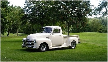 The 1952 Chevy truck