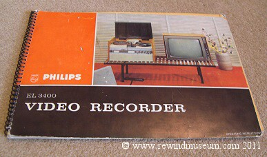 The Philips EL3400 Manual. 1964