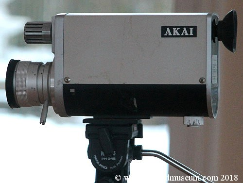 Akai VC-100 VTR with camera.