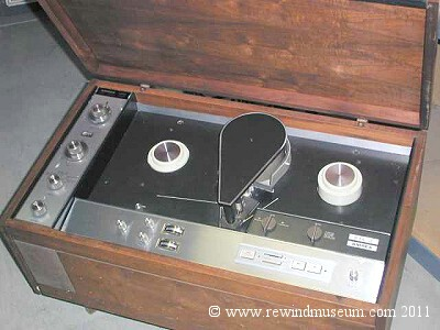 Ampex 1 inch domestic recorder. 1966