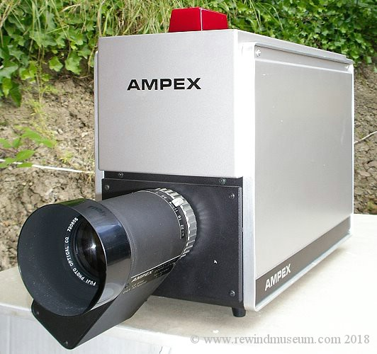 The Ampex CC-452 TV camera.