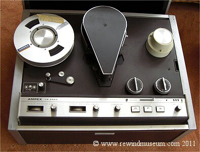 The Ampex VR 5003.