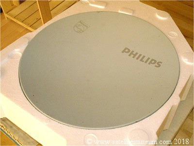 Boxed Philips 35cm BSB satellite dish