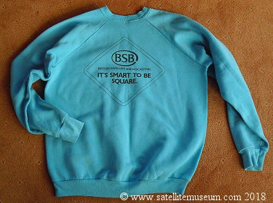 BSB promotional sweat shirt - back.