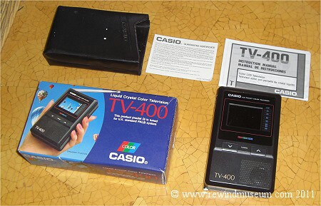 Casio Pocket TV-400