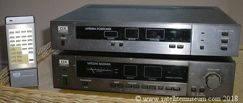Museum of vintage satellite receivers  BSB squarial, SCT
