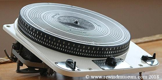 1957 Eden record player arm.