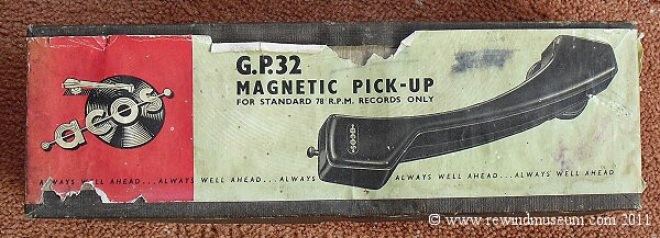 Acos G.P.32 Pickup Arm.
