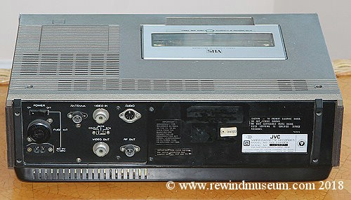Vintage Vhs Video Recorders  The Jvc Hr