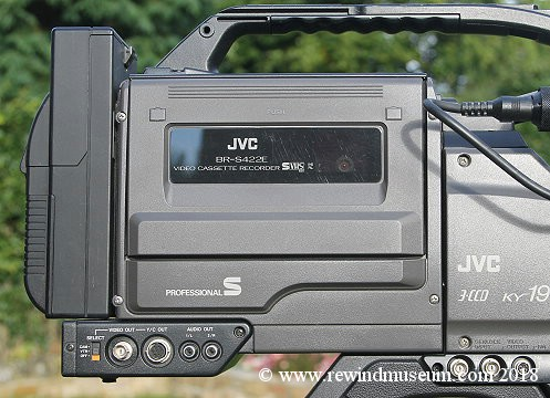 The JVC KY19 dockable camera recorder.