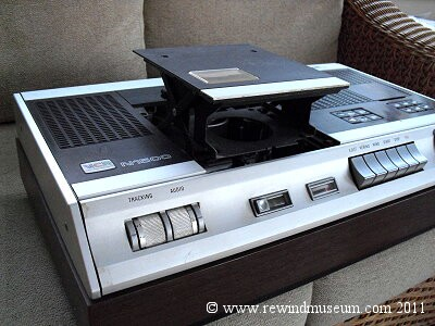 The Philips N1500 VCR.
