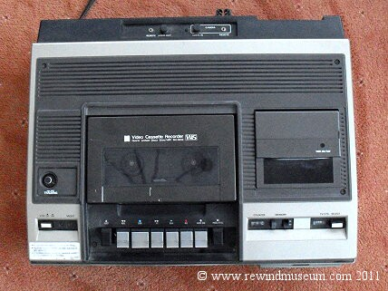 Vintage VHS video recorders  The JVC HR-3300, HR3300, The