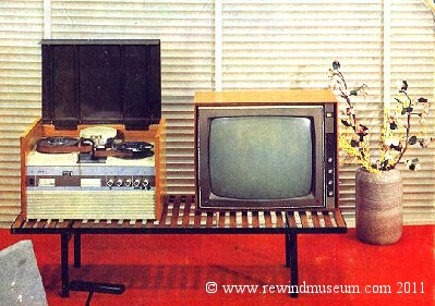 1st ever domestic video tape recorder? Library picture.
