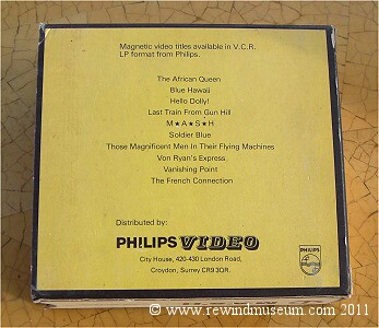 Philips LP pre-recorded tapes