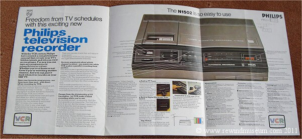 The Philips N1502 brochure.
