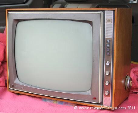 Rewind Museum Vintage Television Museum The 1948 Bush Model Tv
