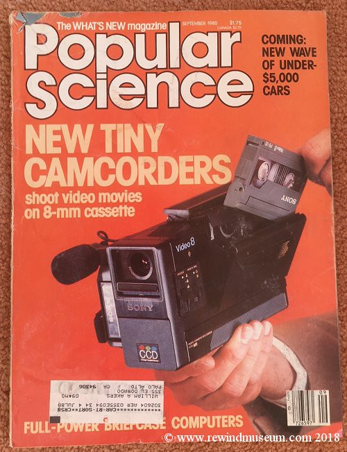Popular Science Video issue