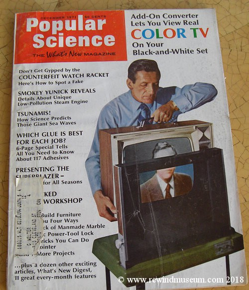 Popular Science Video Dec 1971 issue