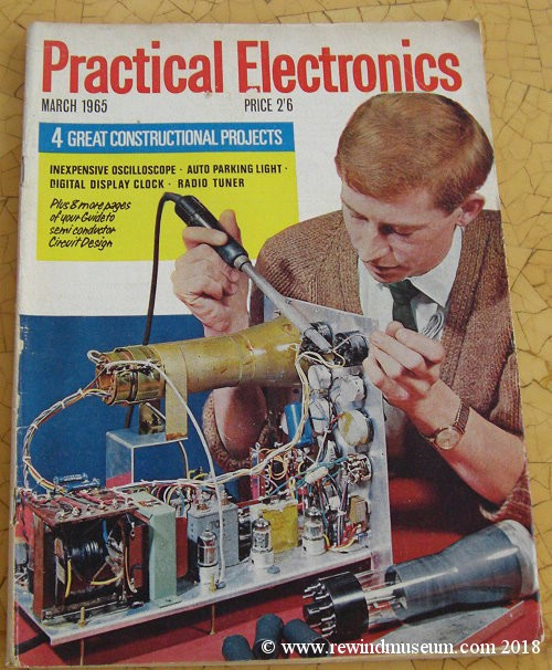 Museum  Old vintage Practical Electronics magazines  Vintage