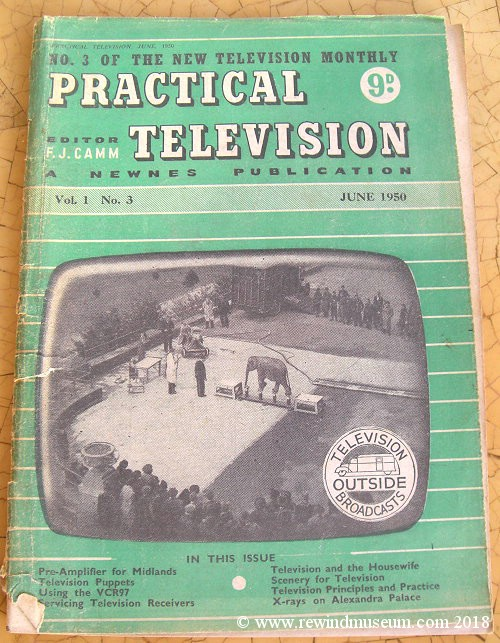 Practical Television magazine. June 1950.