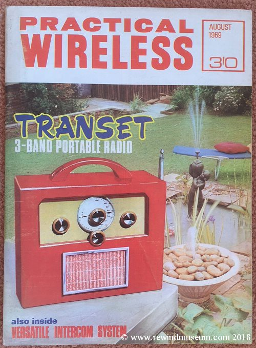 Practical Wireless August 1969