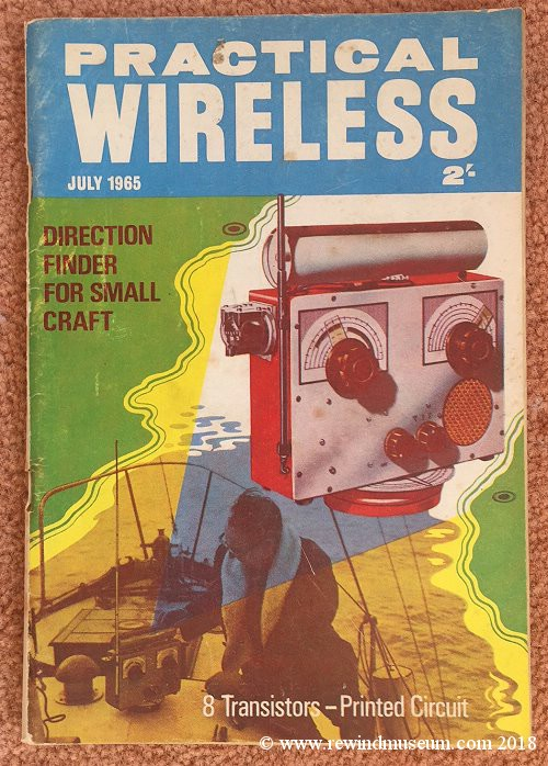 Practical Wireless magazine. July 1965