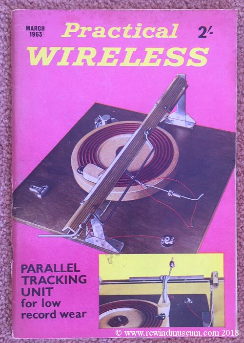 Practical Wireless magazine. March 1963
