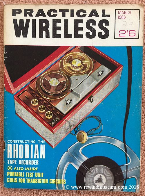 Practical Wireless March 1968