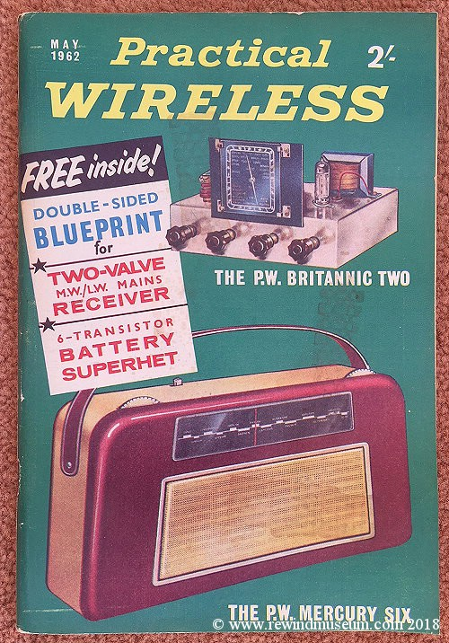 Practical Wireless magazine. May 1962