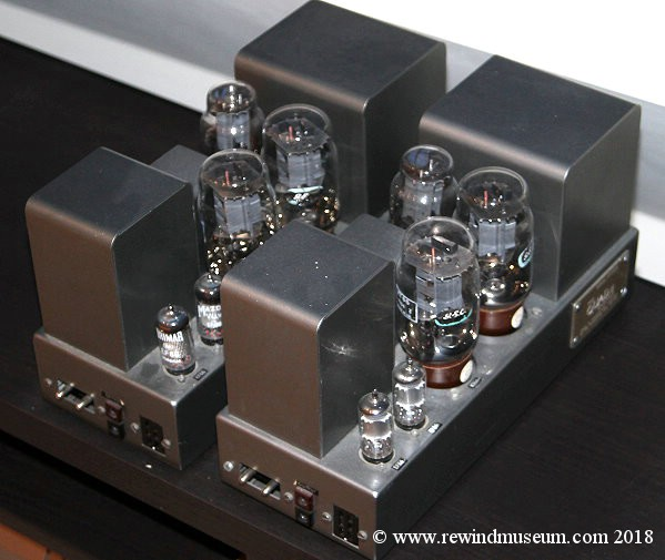Vintage Hi Fi museum  Quad 22 and 202 valve amplifier  Leak