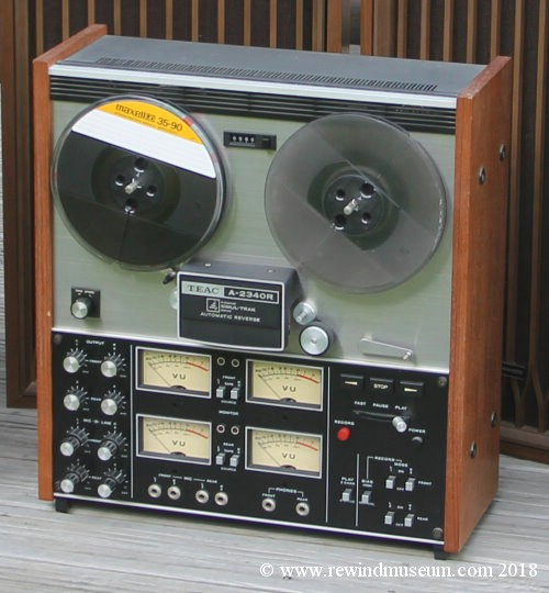 TEAC A-2340R reel to reel quadraphonic tape recorder