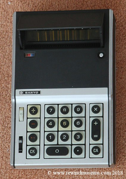 Sanyo Calculator.