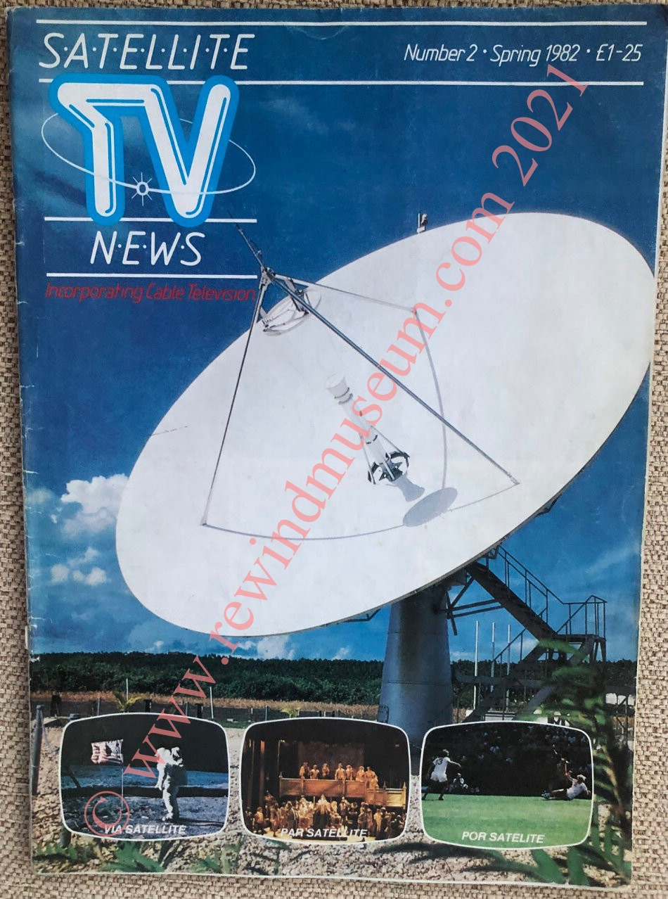 Satellite TV News. Spring 1982.