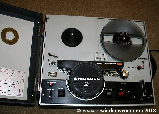 Shibaden SV- 610E reel to reel video recorder