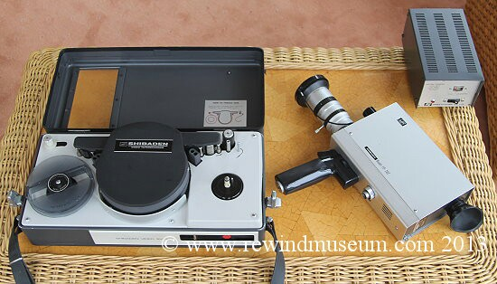 The Shibaden SV707 portable VTR