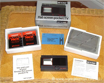 The Sinclair Pocket TV