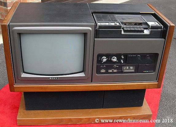 Vintage Betamax Vcrs The Sony Sl 7200a 1st Betamax Video