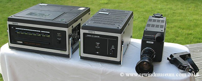 Sony UMATIC V0 3800 with dxc-1600 colour camera