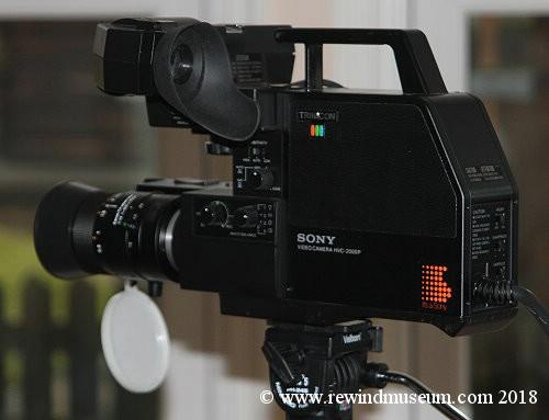 Vintage video cameras  Video camera museum  Vintage Sony dxc