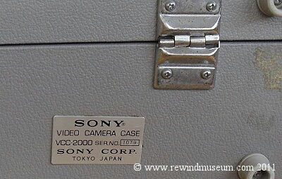 The Sony VCC-2000 camera kit
