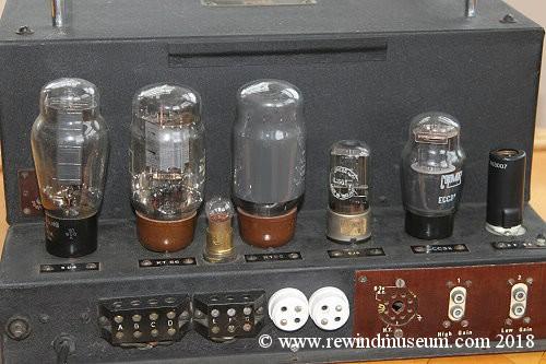 Vintage Hi Fi museum  Quad 22 and 202 valve amplifier  Leak, Rogers
