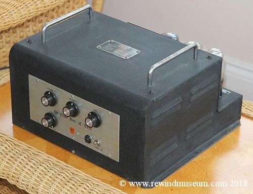 Vintage Hi Fi museum  Quad 22 and 202 valve amplifier  Leak