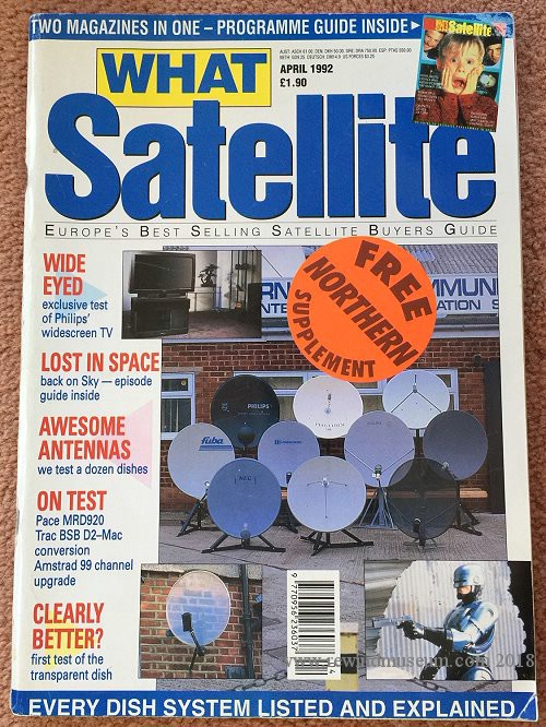 What Satellite April 1992